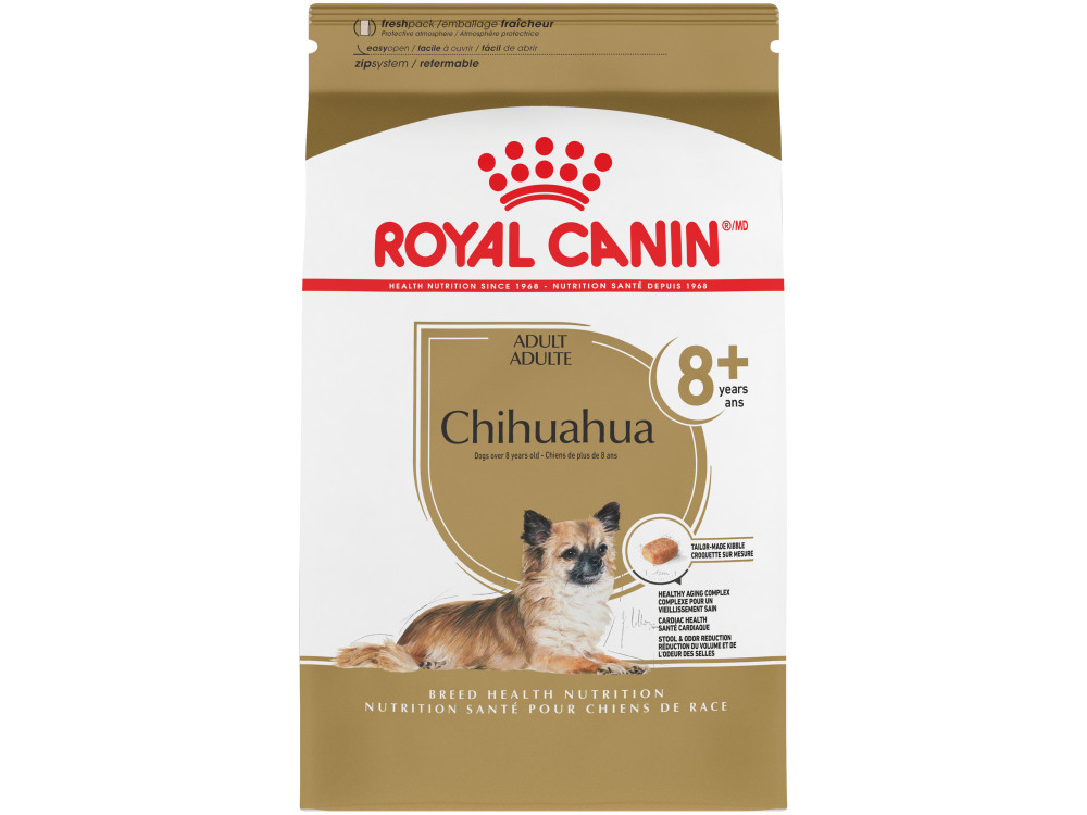 Royal Canin Breed Health Nutrition Chihuahua 8+ Dry Dog Food