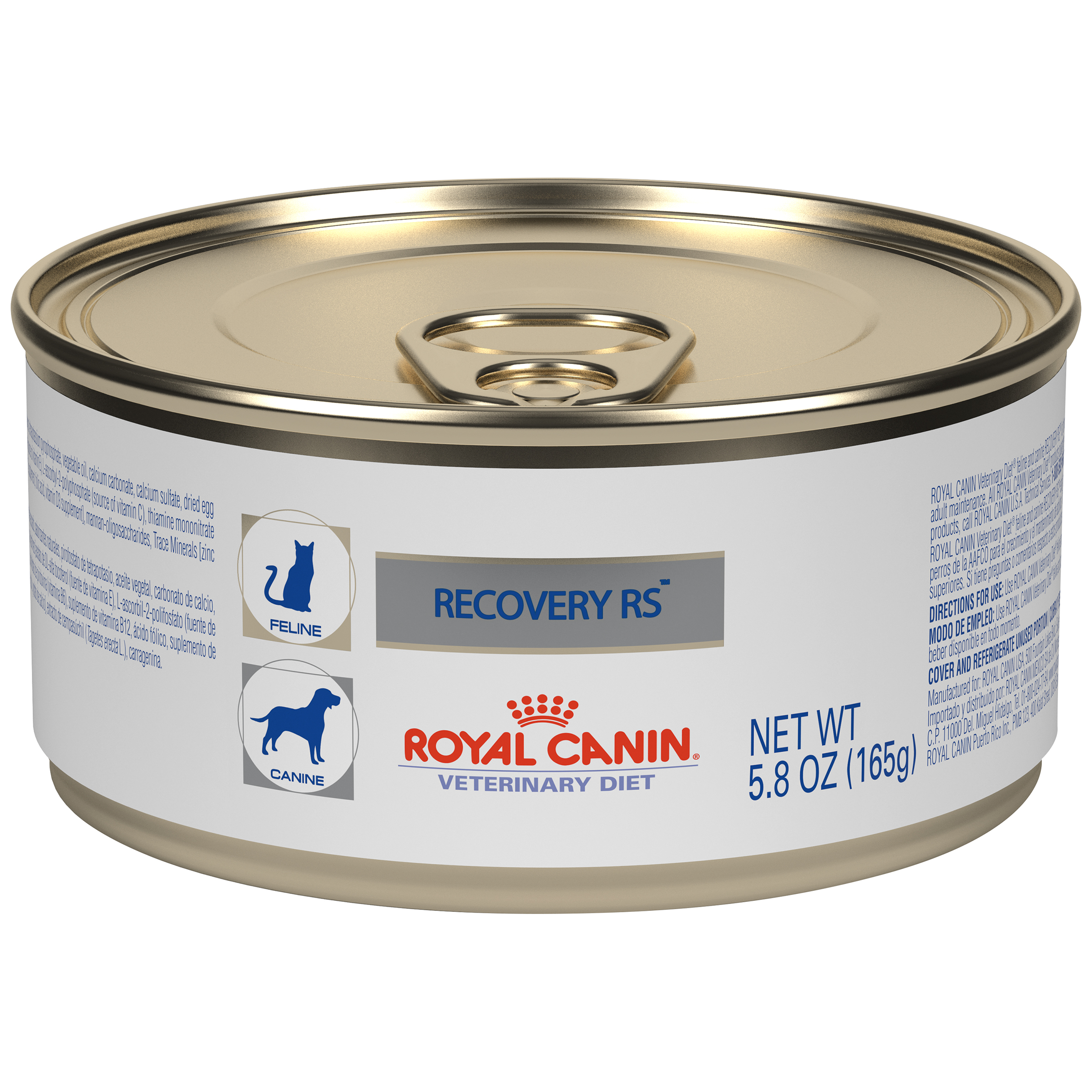 Royal Canin Veterinary Diet Feline And Canine Recovery Rs Canned Cat and Dog Food