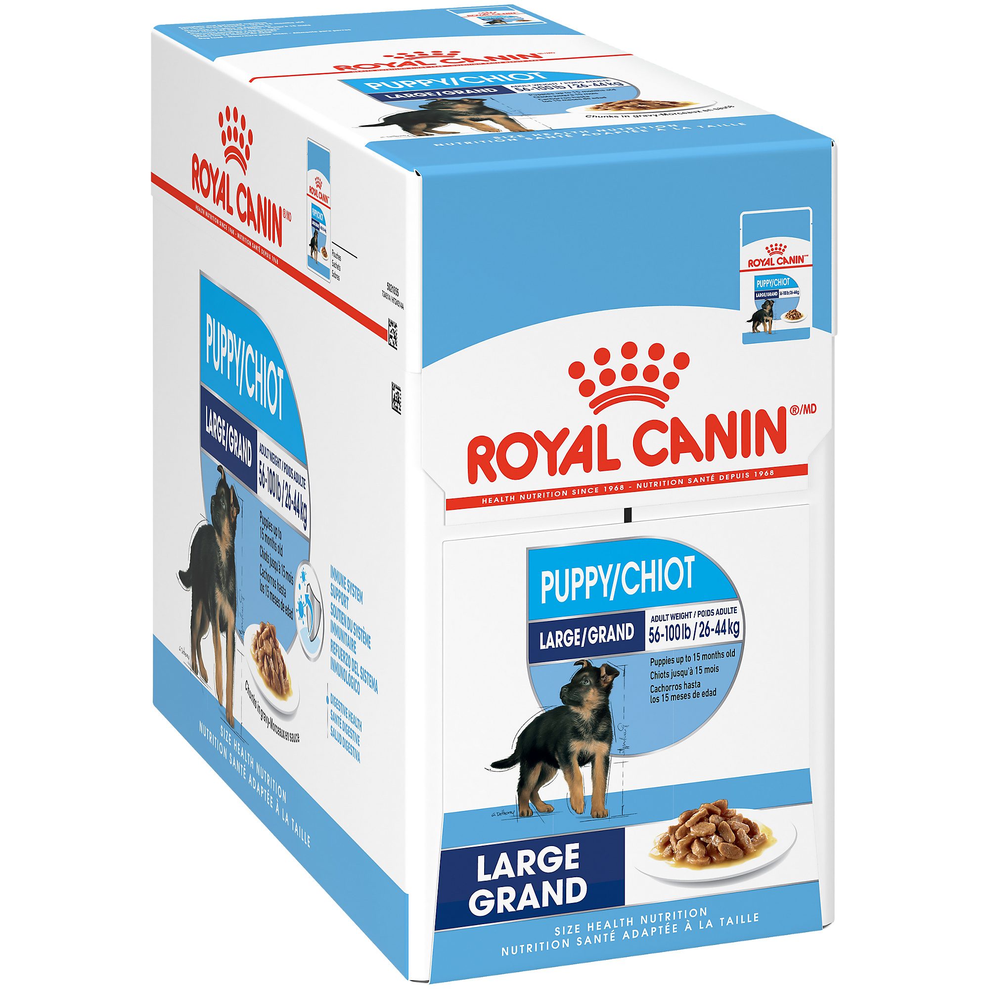 Royal Canin Size Health Nutrition Large Puppy Pouch Dog Food
