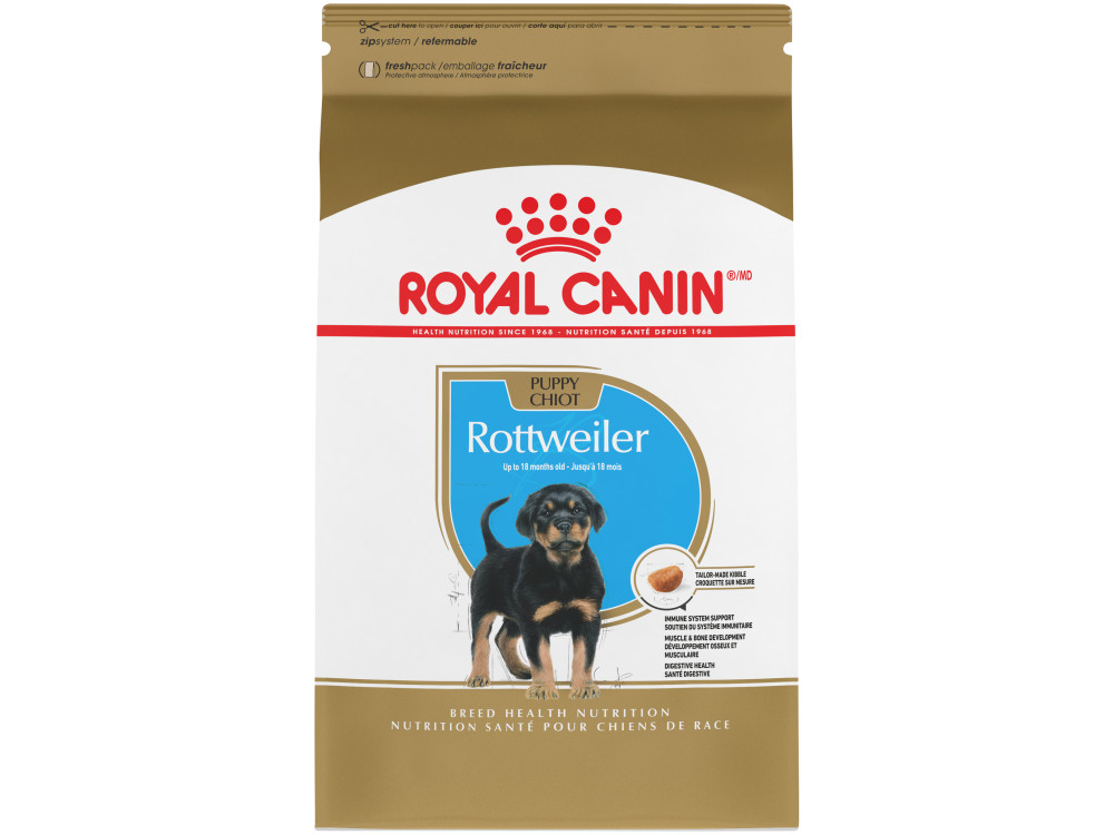 Royal Canin Breed Health Nutrition Rottweiler Puppy Dry Dog Food