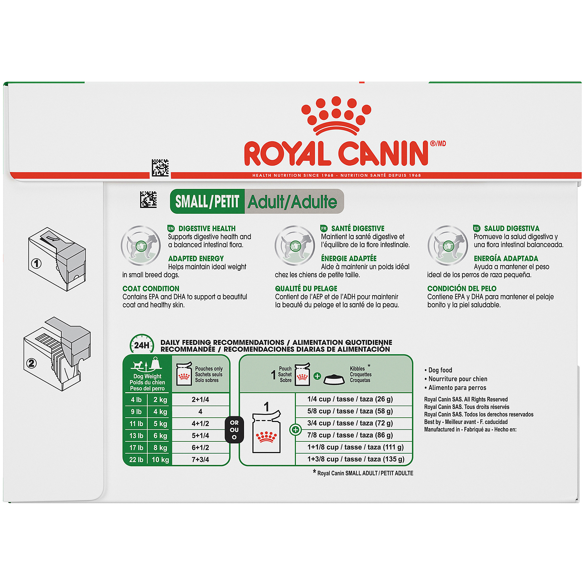 Royal Canin Size Health Nutrition Small Adult Pouch Dog Food