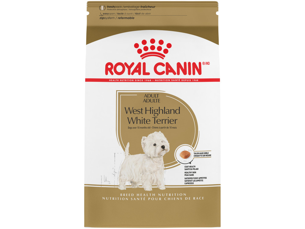 West Highland White Terrier Adult Dry Dog Food