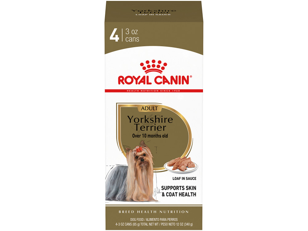 Yorkshire Terrier Adult Loaf In Sauce Canned Dog Food