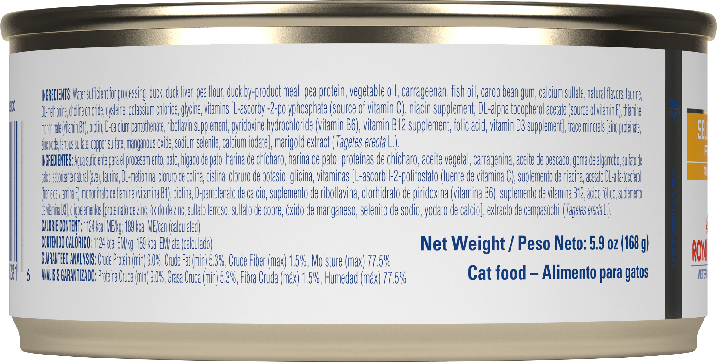 Royal Canin Veterinary Diet Feline Selected Protein Adult PD Canned Cat Food