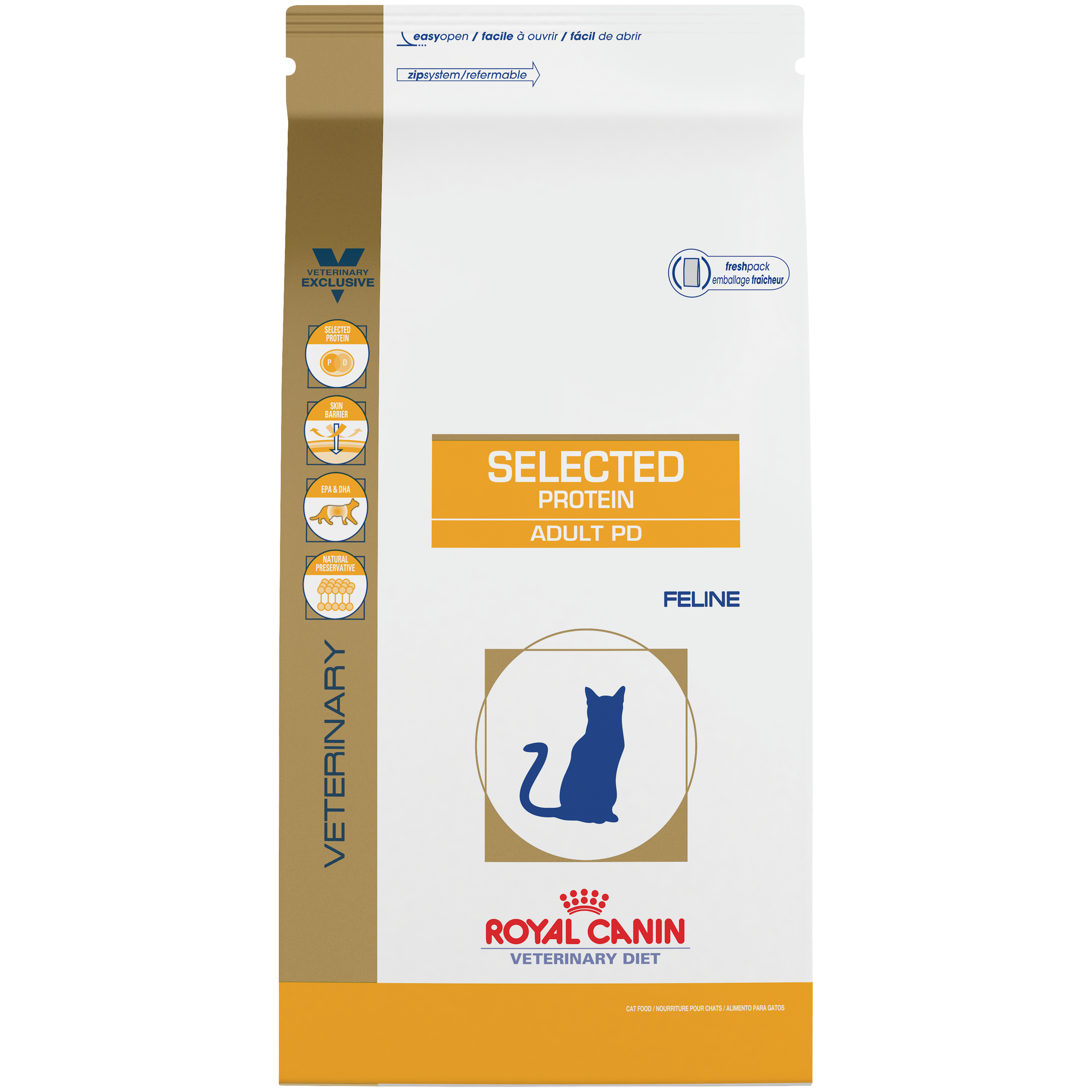 Royal Canin Veterinary Diet Feline Selected Protein Adult PD Dry Cat Food