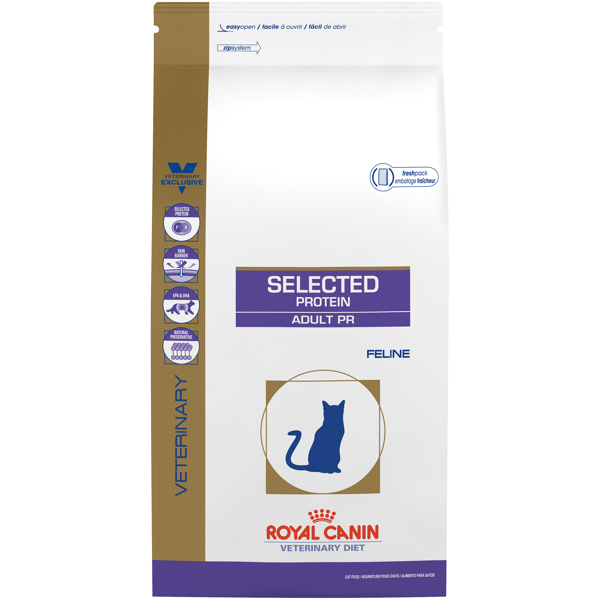 Royal Canin Veterinary Diet Feline Selected Protein Adult PR Dry Cat Food